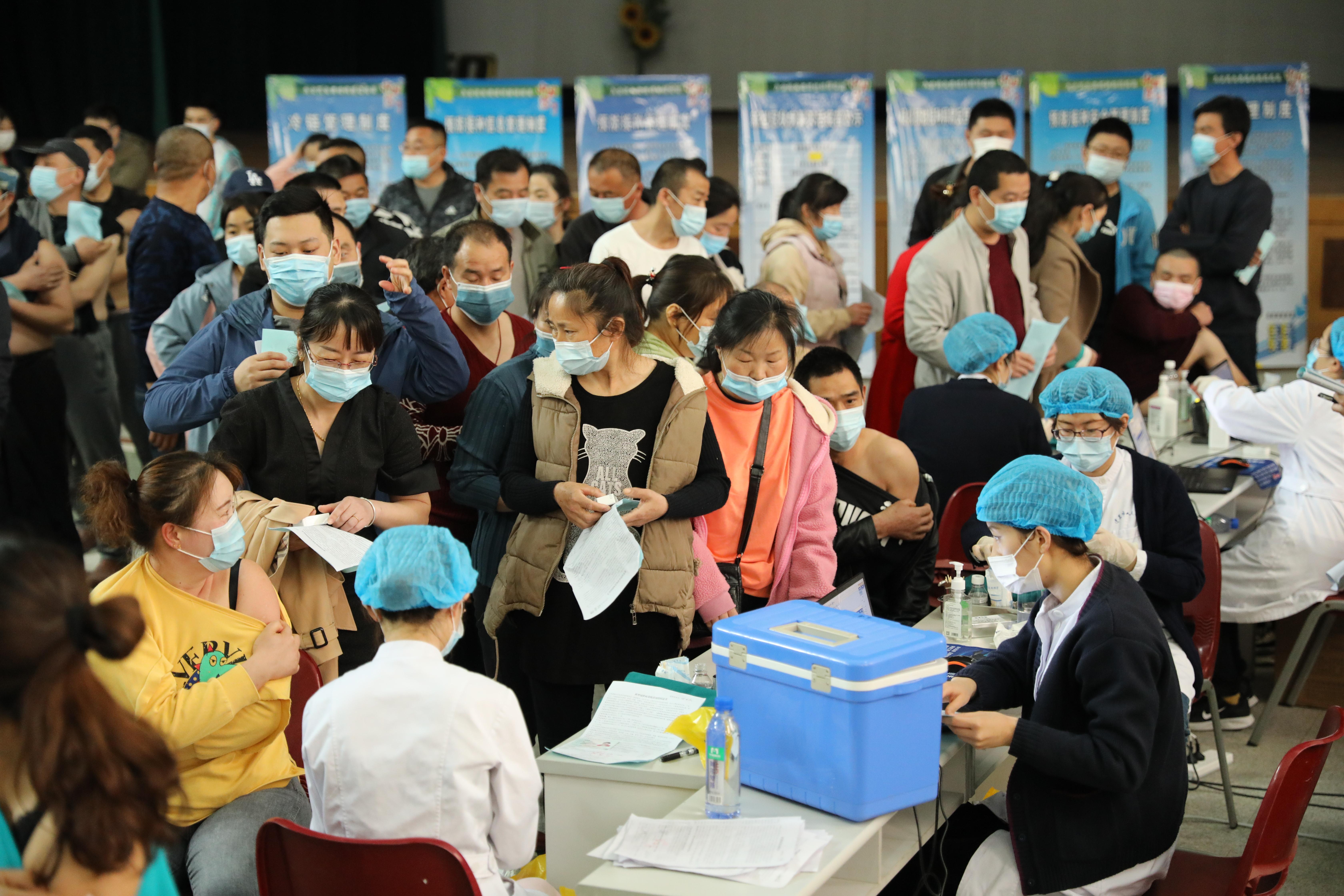民和股份新冠疫苗接种进行中