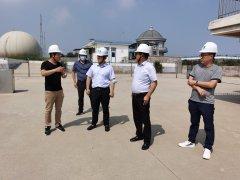 山东省安全生产专项督导烟台中心组一行到民和生物科技进行专项督导检查